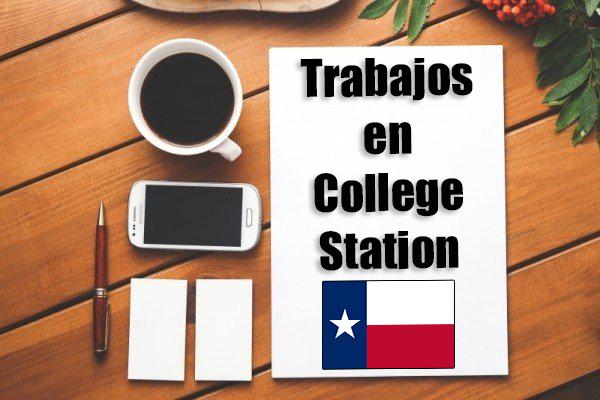 trabajos en college station tx inmigrantes con papeles
