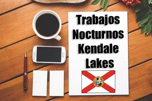 trabajo en kendale lakes de noche