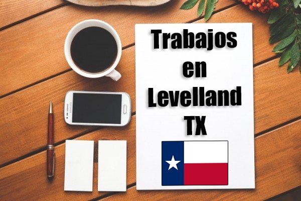 Empleos Turno de Noche en Levelland TX