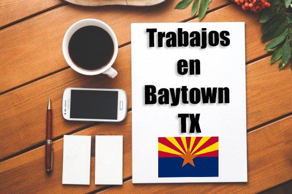 Empleos Turno de Noche en Baytown TX