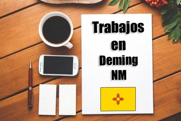 Empleos de limpieza en Deming NM