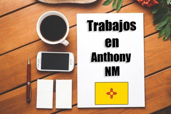 Empleos de limpieza en Anthony NM