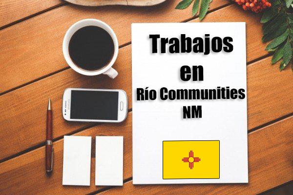 Empleos de limpieza en Río Communities NM
